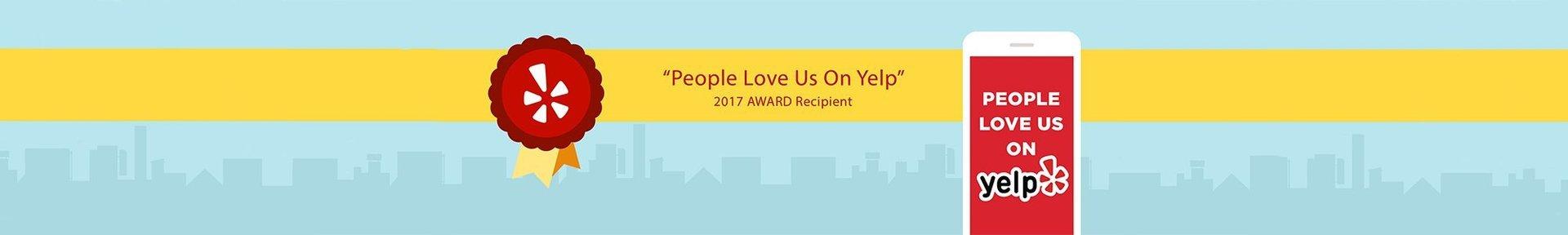 Yelp 2017 Award - StarBrite Dental
