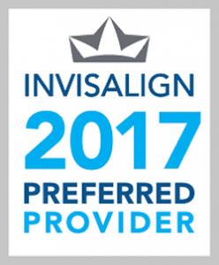 Invisalign 2017 Preferred Provider Badge