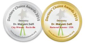 doctors choice 2015 dentistry award winner maryam seifi