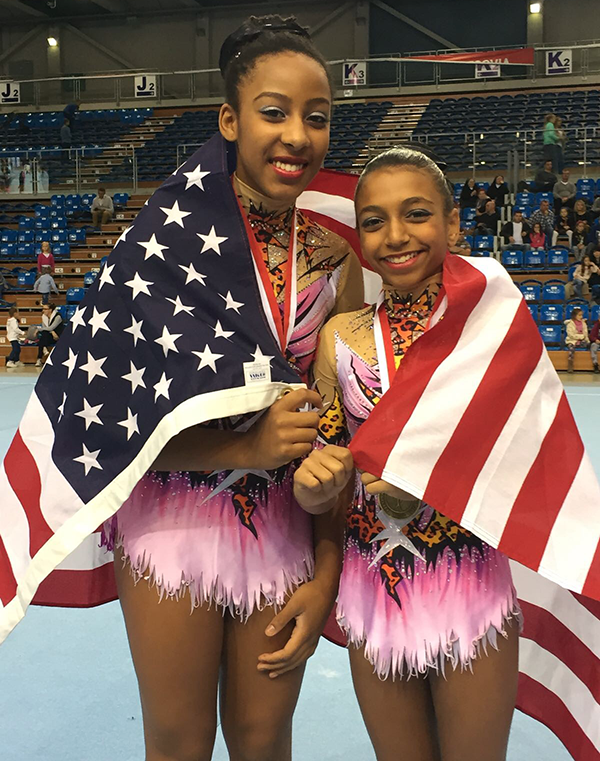 Dr. Seifi's Daughter, Nicole, and her Olympic Teammate