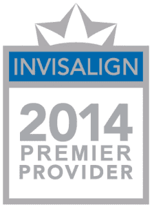 Invisalign 2014 Premier Provider Badge
