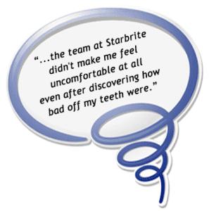 rockville md starbrite dental patient review image