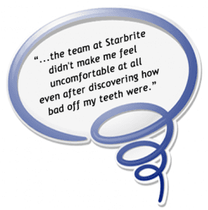 Photo of StarBrite Dental Patient Review