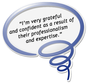 patient dental review quote image