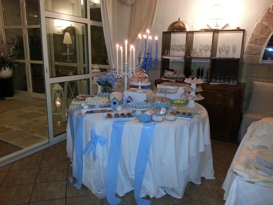 tavolo con candele