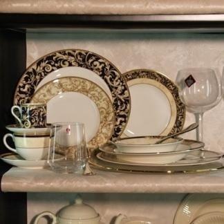 articoli in vetro e porcellana