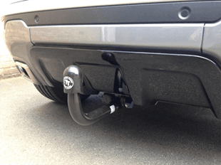 Car towbar