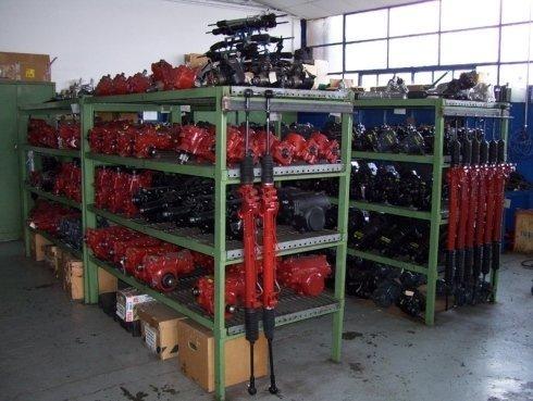 pezzi per veicoli industriali, lavaggio idroguide, controllo idroguide