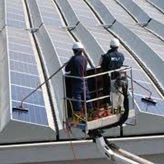 pulizia pannelli fotovoltaici