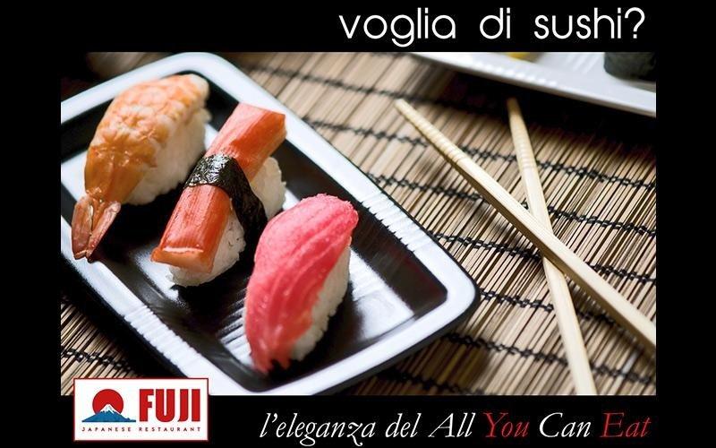 sushi a cena