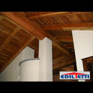 Interno in legno tetti