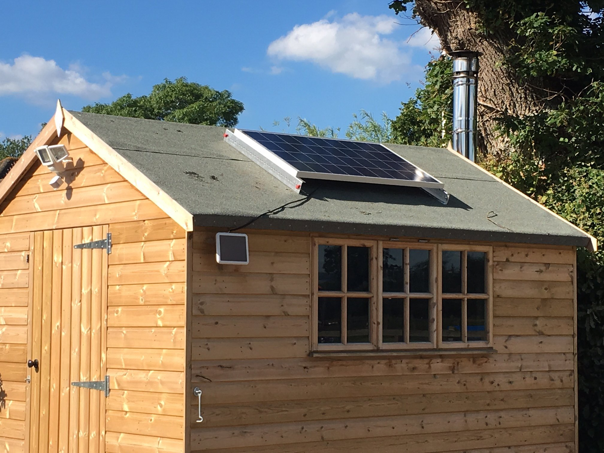 Haven Timber Solar Lighting And Off Grid Solar Power Solutions In Norton St Philip Bath
