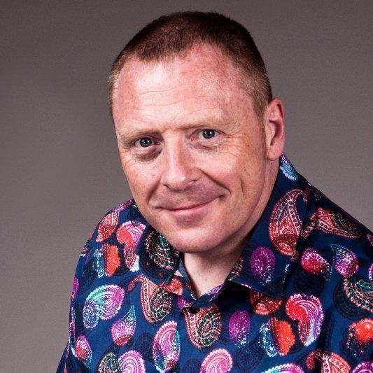 David Thomas at West London Business Show