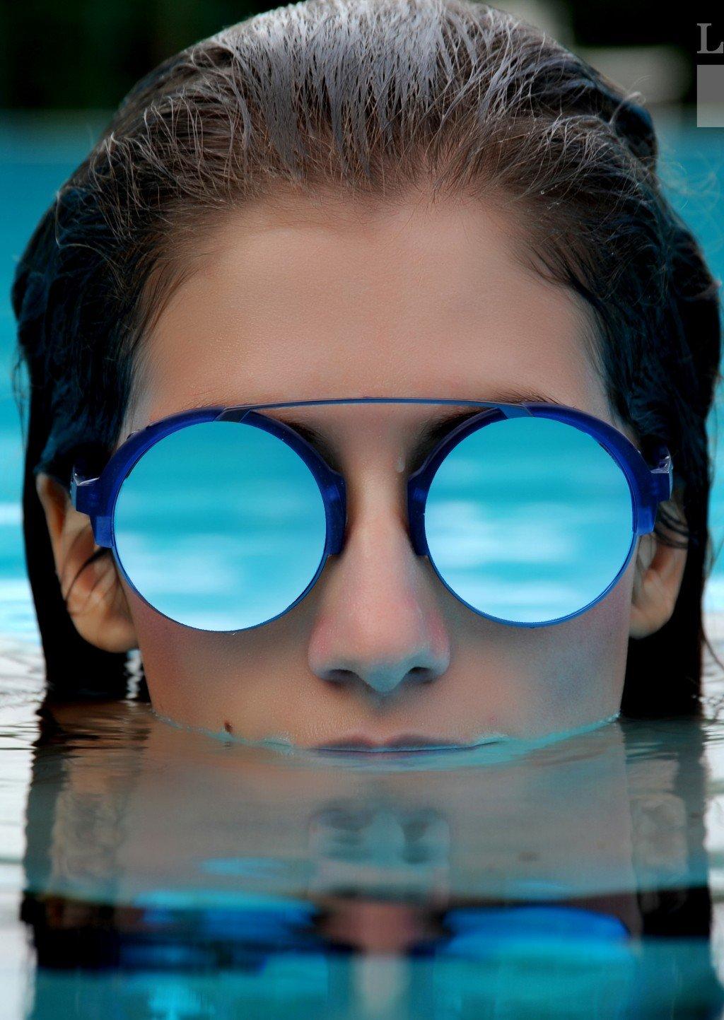 occhiali da sole lenti a specchio