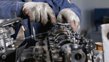 riparazioni, motore, meccanico, chiave inglese