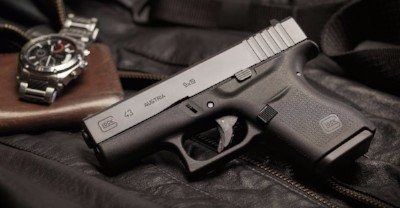 Private Range Class Glock 43 single stack pistol