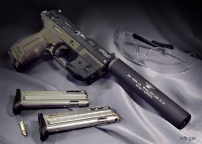 Tampa Carry Private Range Walther P22 with silencer