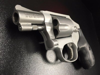Private Range training Smith and wesson Model 686 revolver