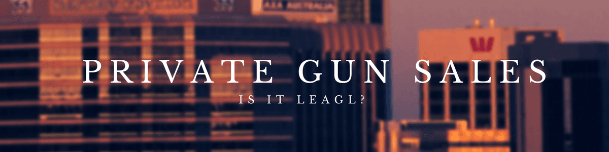 Tampa Carry is private gun sales legal