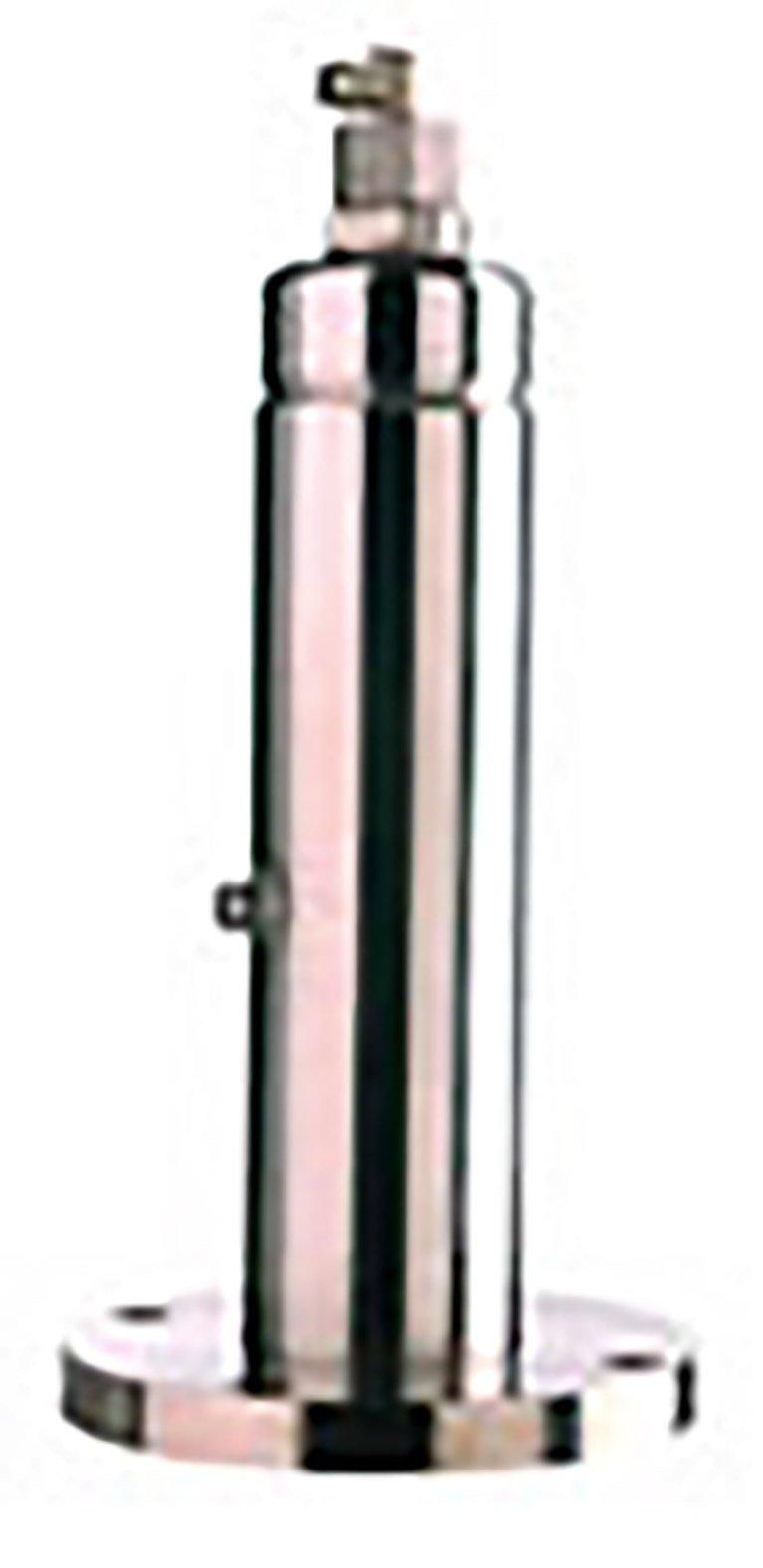 Hot metal stamping piston