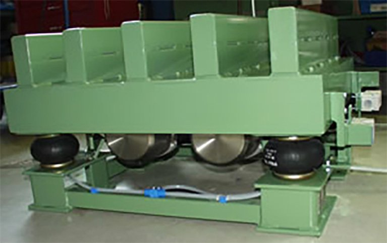Example of a vibrating table
