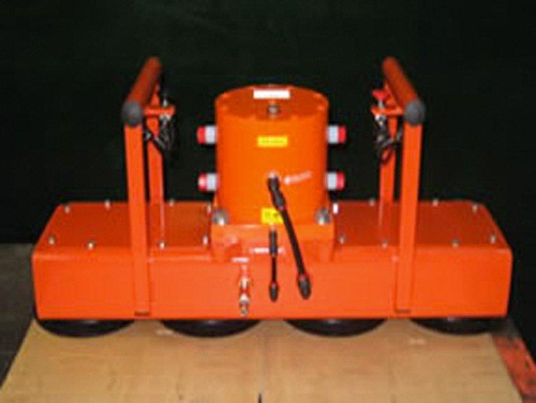 Vibrating Rail Wagon Unloader