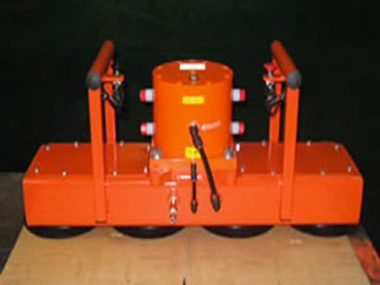 Vibrating Rail Wagon Unloader