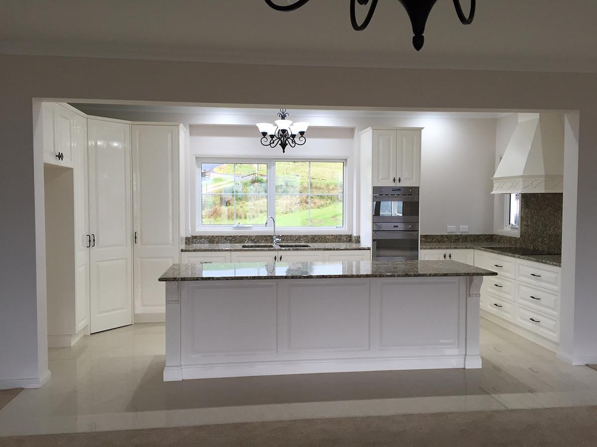 kitchen view front