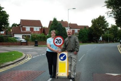 We introduced 20mph on Tyne Crescent
