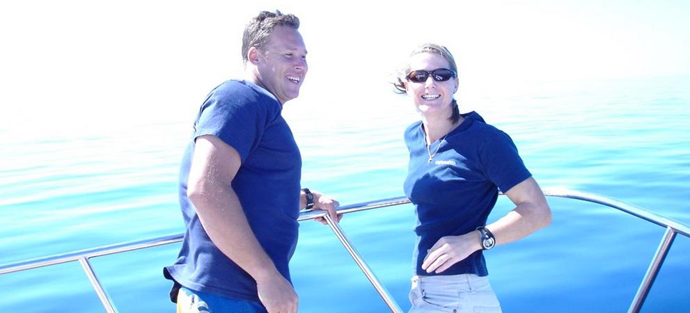 Crew members found through our marine services in Adelaide