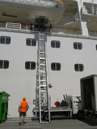 trasporto bagagli navi