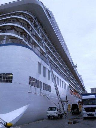 trasporto bagagli navi da crociera