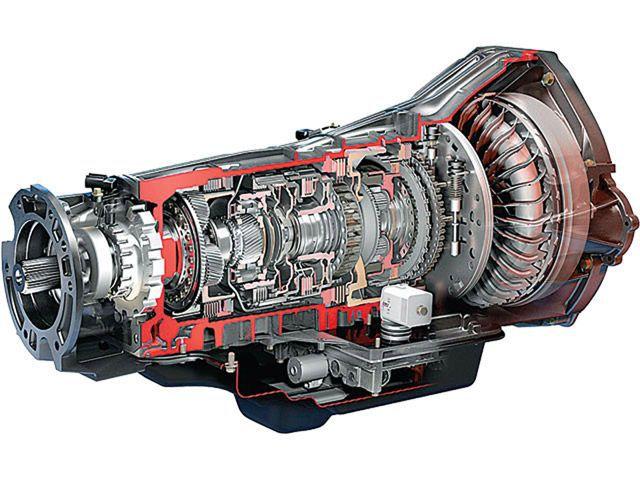 image de l'intérieur d'une transmission automatique