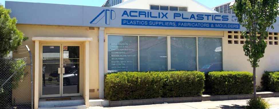acrilix plastics shop front