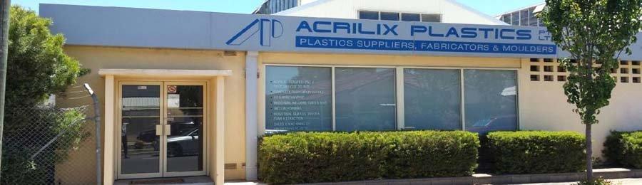 acrilix plastics factory front