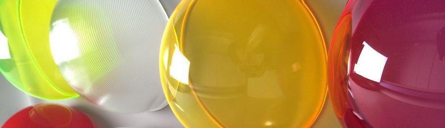 acrilix plastics blow moulding domes