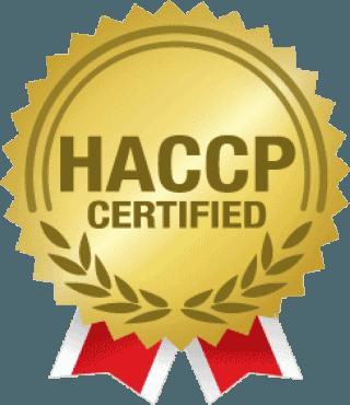 icona simbolo HACCP CERTIFIED