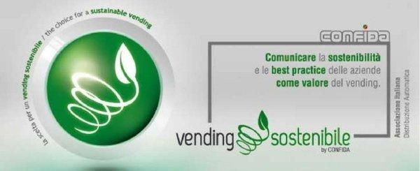 pubblicità CONFIDA su vending sostenibile