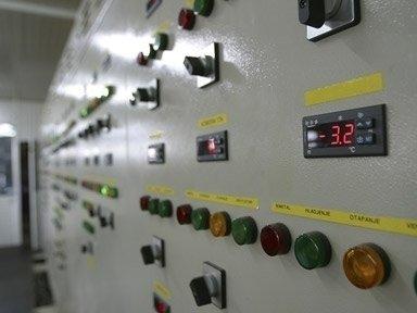 Pannello di controllo impianti