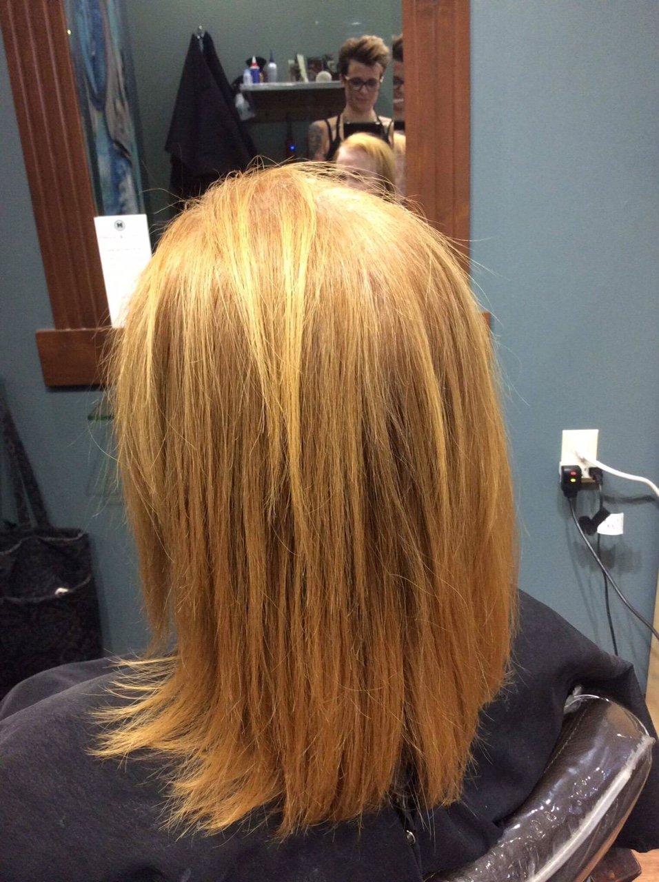Straight Hair Technique