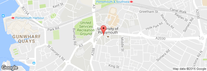 Commercial cleaners - Portsmouth - CCL Cleaning Group Ltd - location map