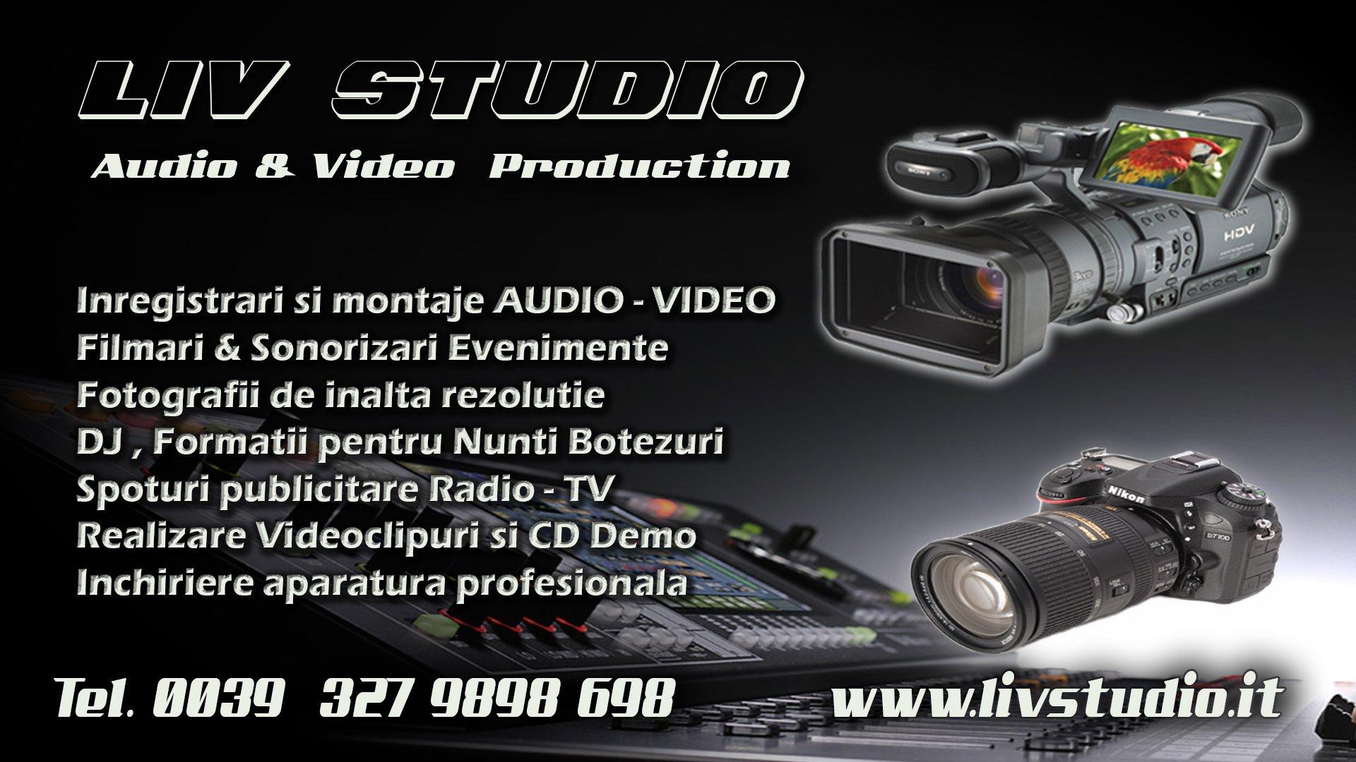 Liv Studio Torino Audio Video Production