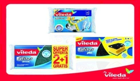 promozione spugne Vileda