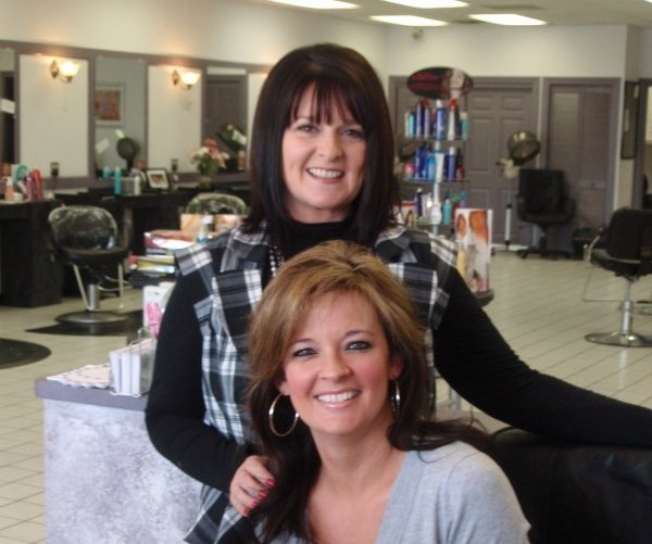 We're the owners of the salon!