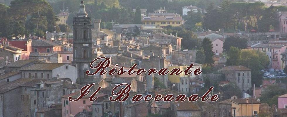 Il Baccanale - Roma