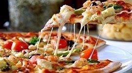 Pizza, Ristorante Il Baccanale Roma