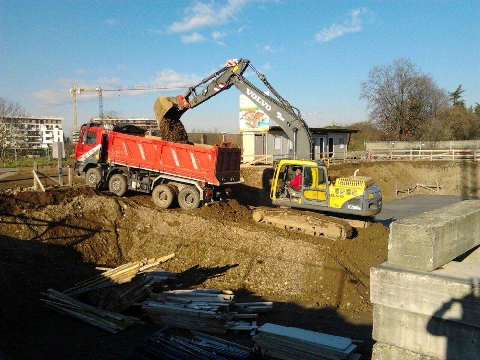 scavi e trasporto