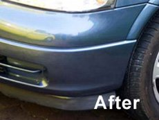 After car scratch removal