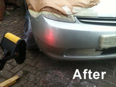 After car dent removal