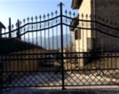 cancello metallico